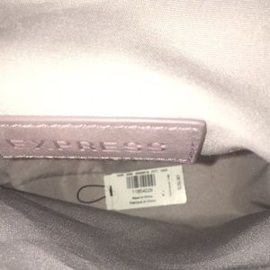 Express Bags - Express dust plum Faux Suede Cross Body Saddle Bag